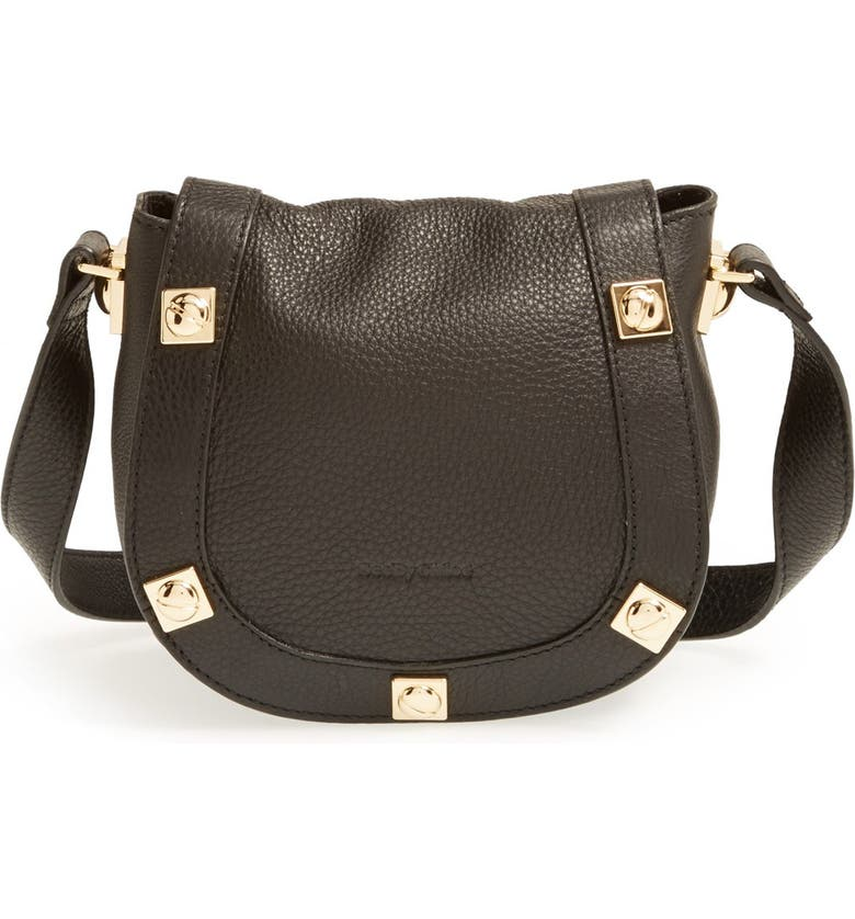 SEE BY CHLOÉ 'Mini Sadie' Leather Crossbody Bag, Main, color, 001