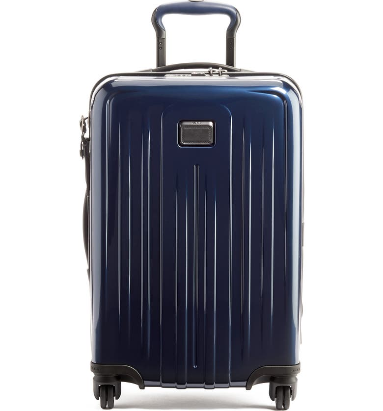 TUMI V4 Collection 22-Inch International Expandable Spinner Carry-On, Main, color, ECLIPSE
