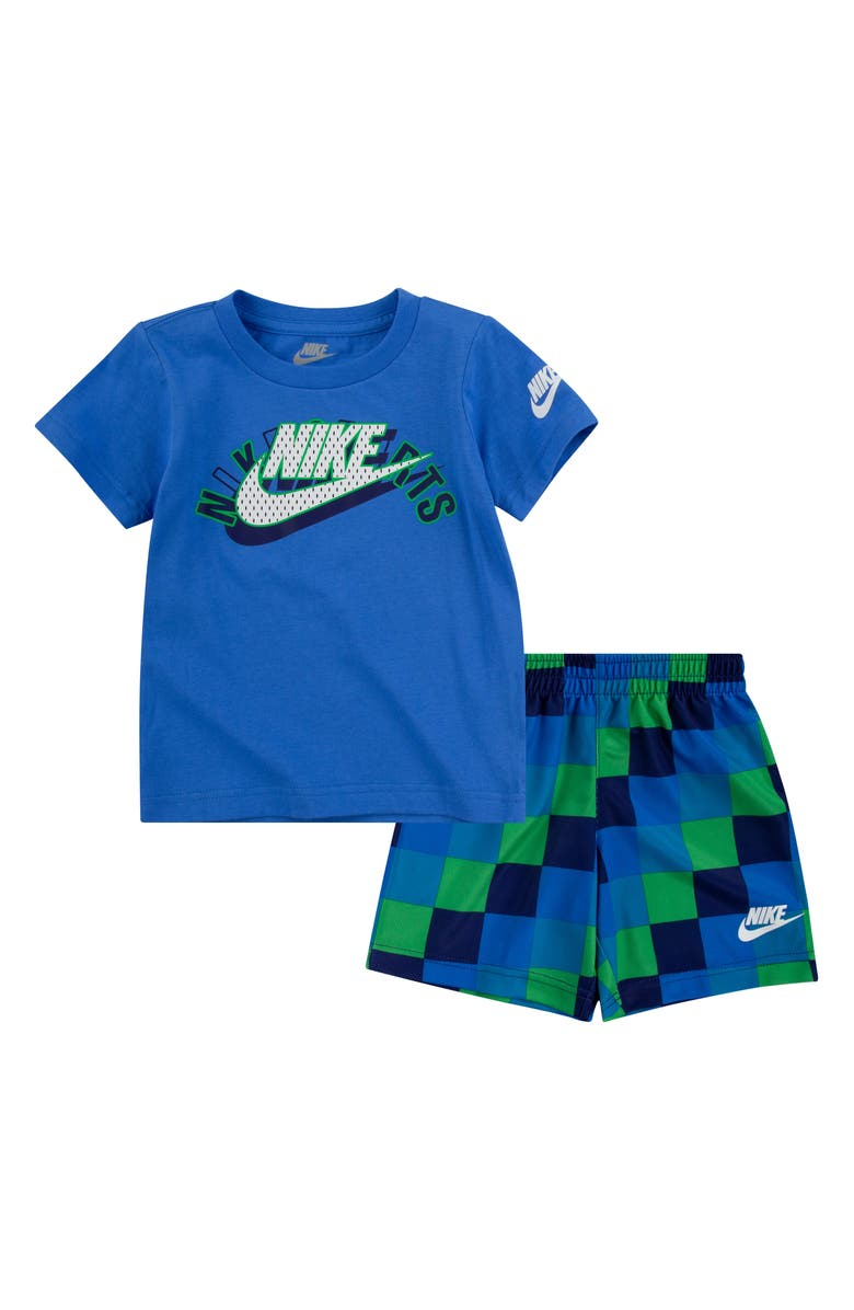 NIKE Kids' NSW Sports Graphic Tee & Shorts Set, Main, color, 311