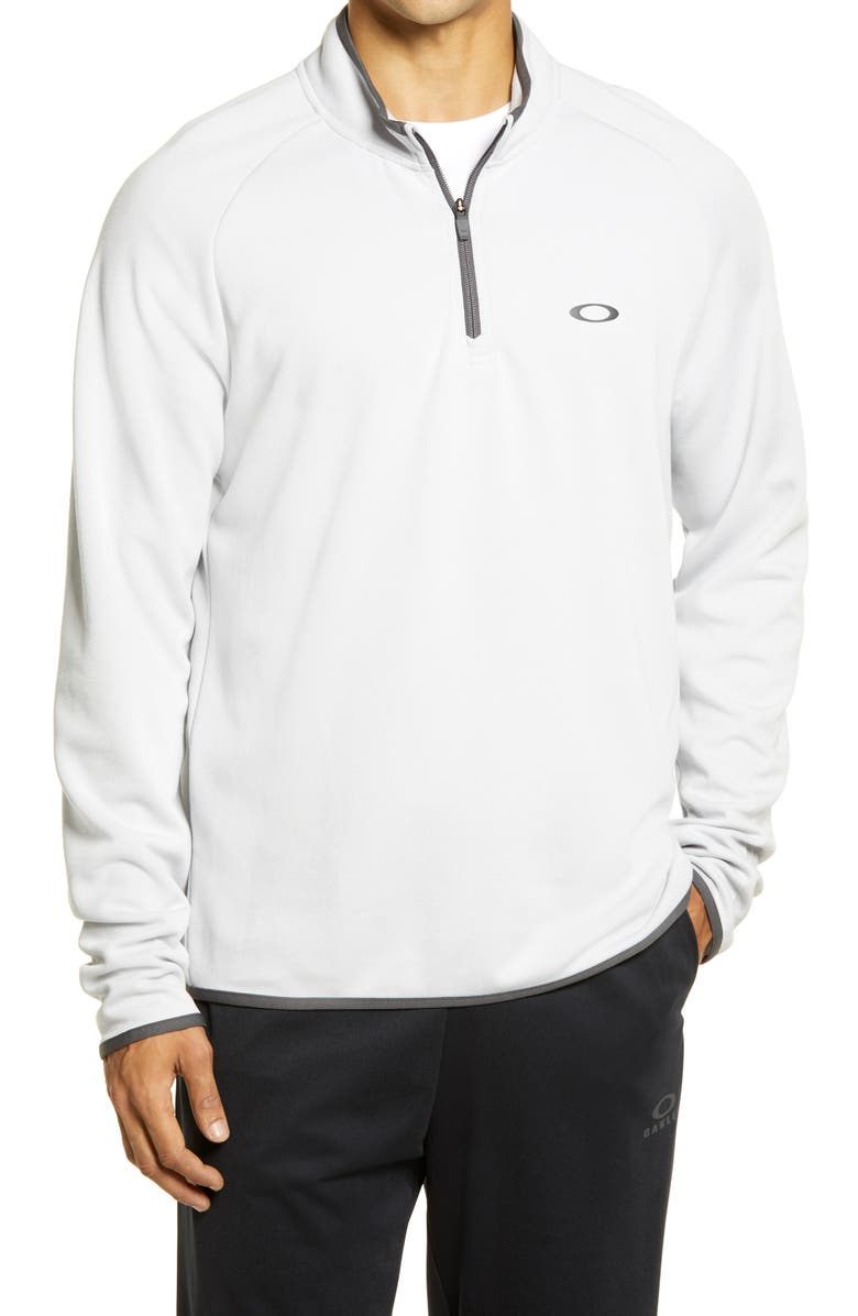 OAKLEY Range 2.0 Half Zip Golf Pullover, Main, color, LUNAR ROCK