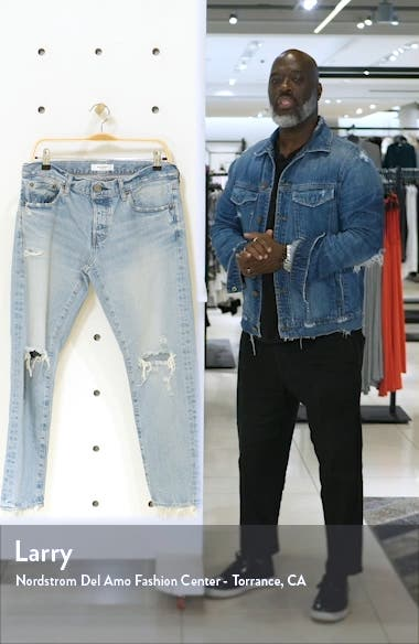 Yardley Ripped Tapered Jeans, sales video thumbnail