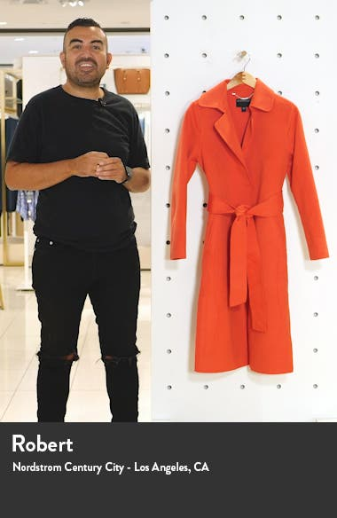 Belted Long Coat, sales video thumbnail