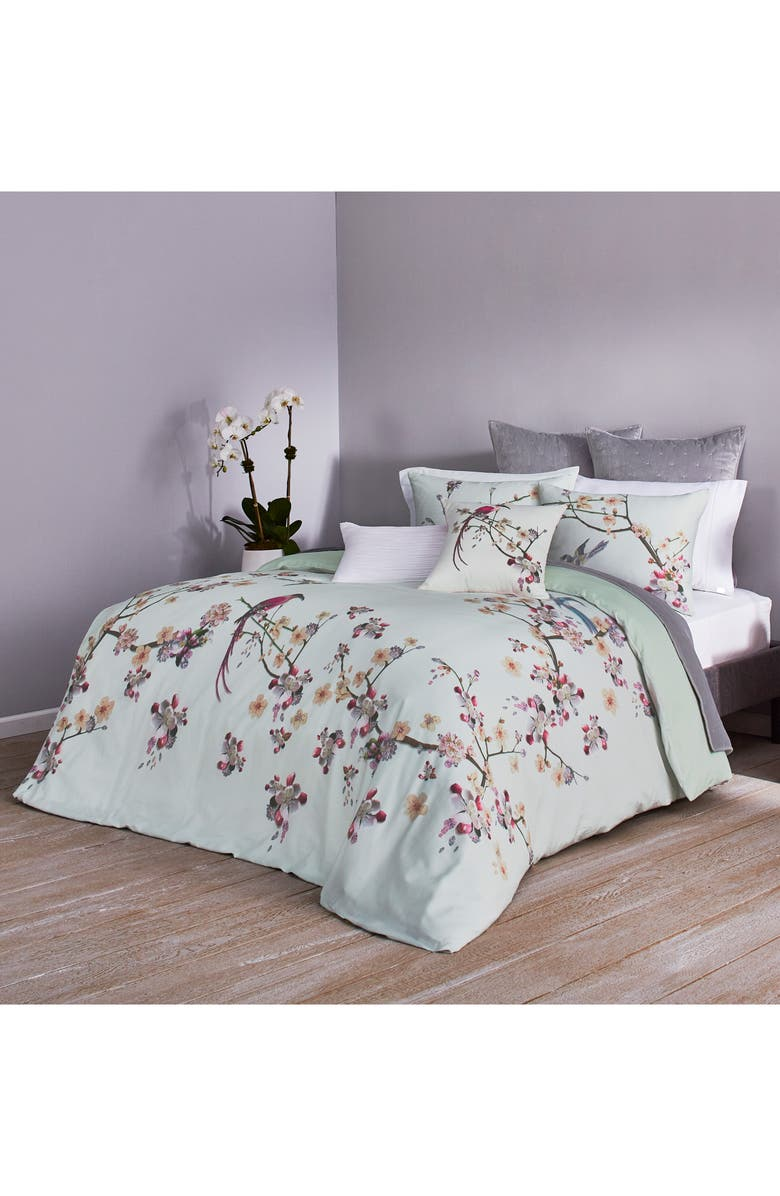 TED BAKER LONDON Flight Comforter & Sham Set, Main, color, MINT