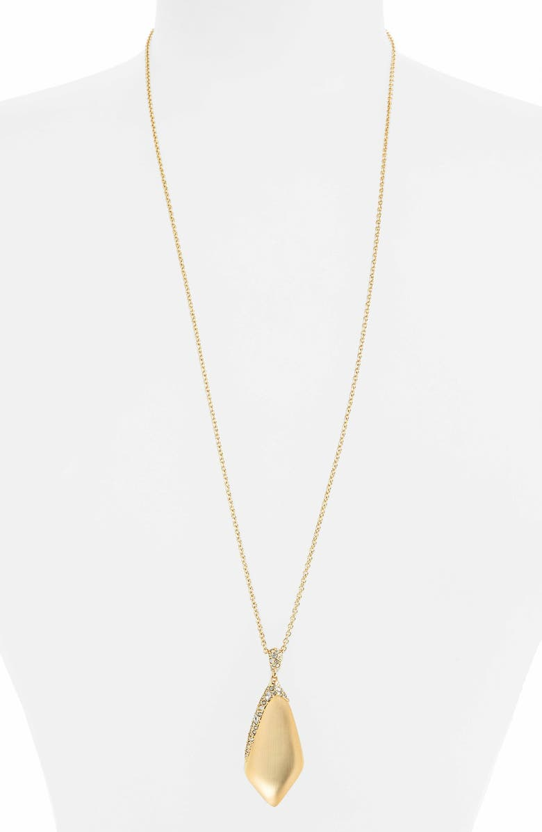 ALEXIS BITTAR 'Lucite<sup>®</sup>' Crystal Encrusted Pendant Necklace, Main, color, 710