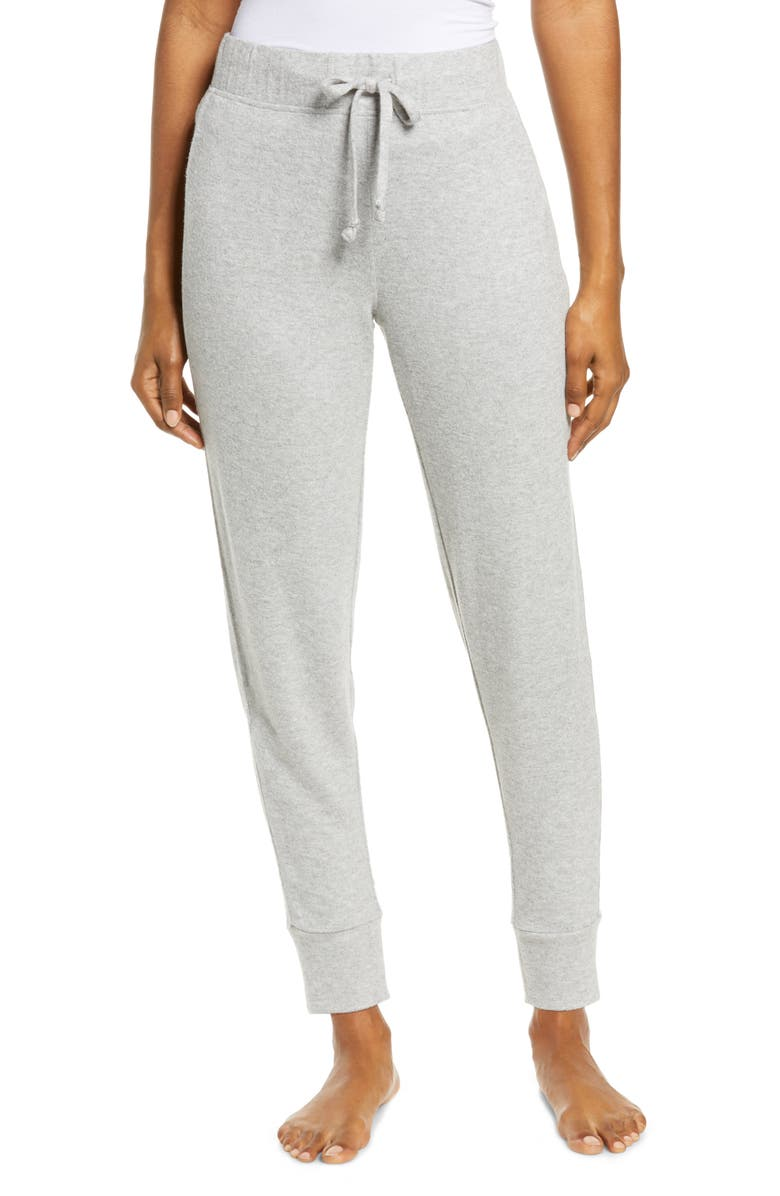 UGG<SUP>®</SUP> Casia Brushed Lounge Joggers, Main, color, GREY HEATHER