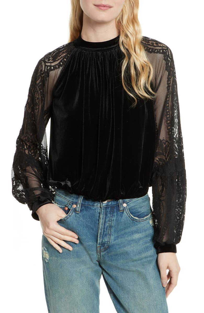 FREE PEOPLE Dream Team Top, Main, color, 001