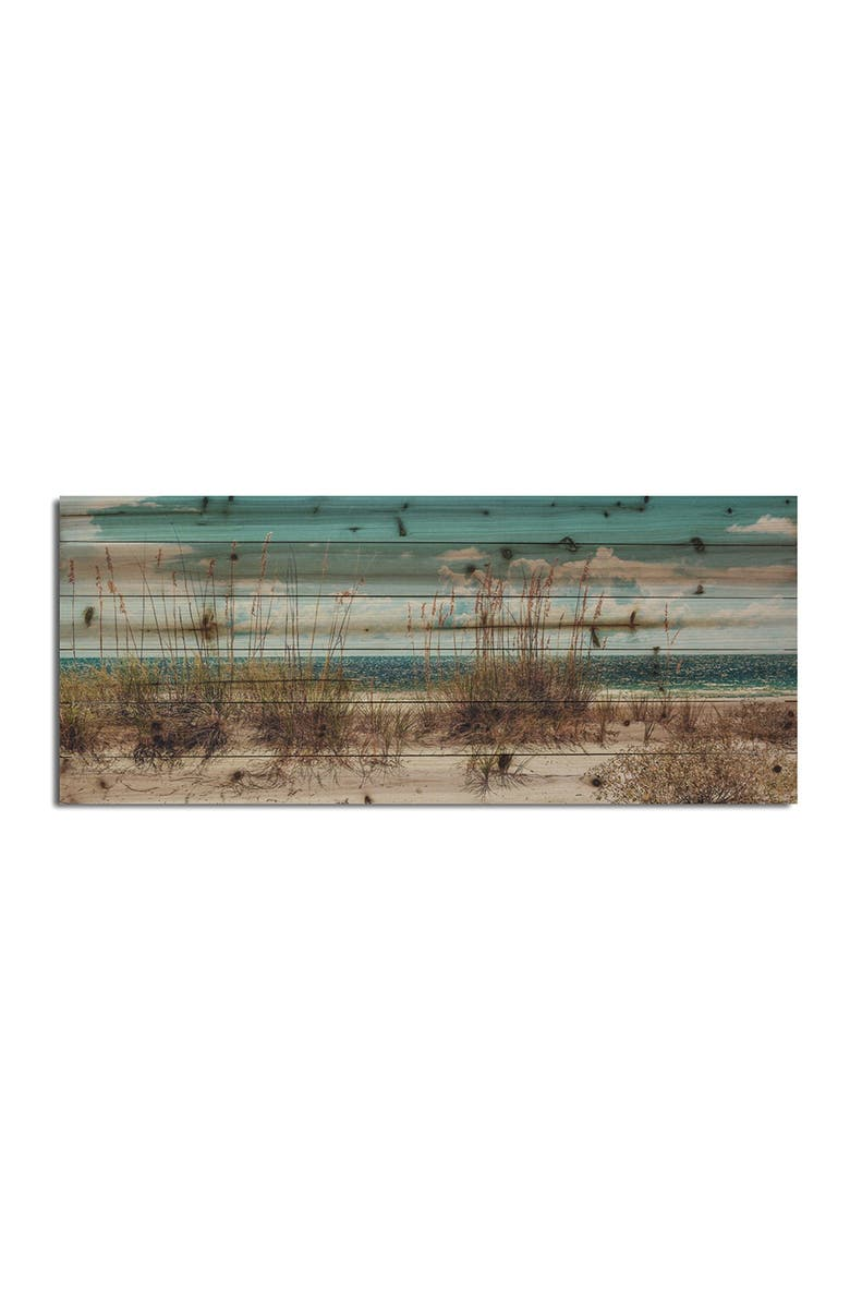 """GALLERY 57 Sand Dunes Long Wooden Wall Art - 45"""" x 19"""", Main, color, MULTI"""
