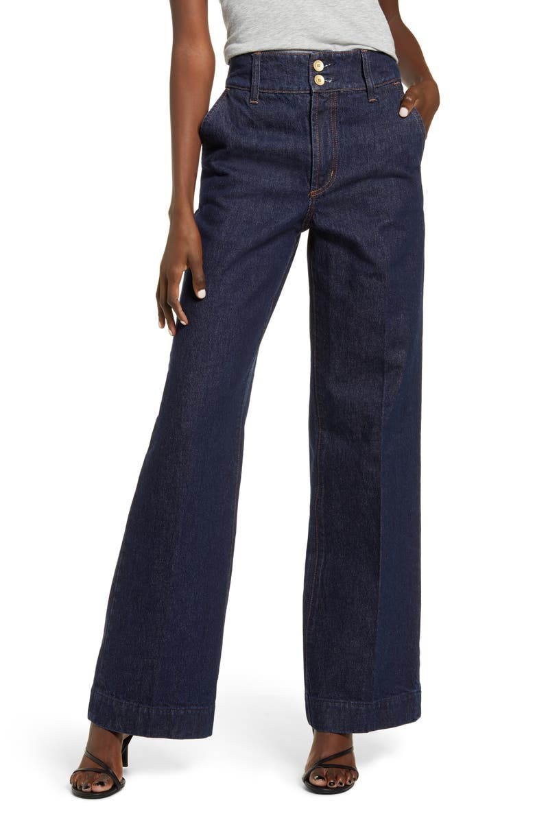 NOBODY DENIM Francoise Flare Leg Jeans, Main, color, 400