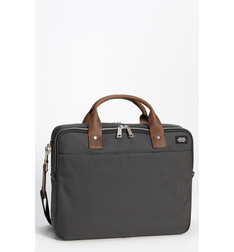 JACK SPADE Nylon Canvas Laptop Briefcase, Main, color, 072
