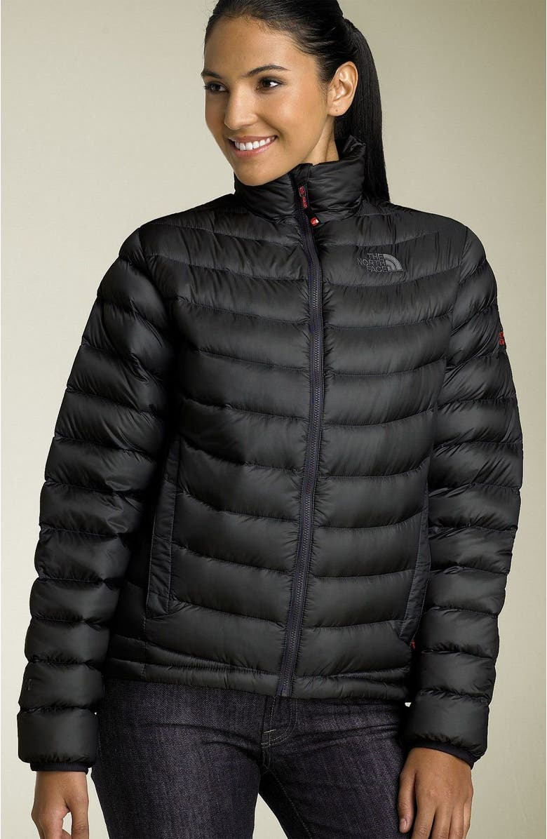 THE NORTH FACE 'Thunder' Packable Jacket, Main, color, SOLID BLACK
