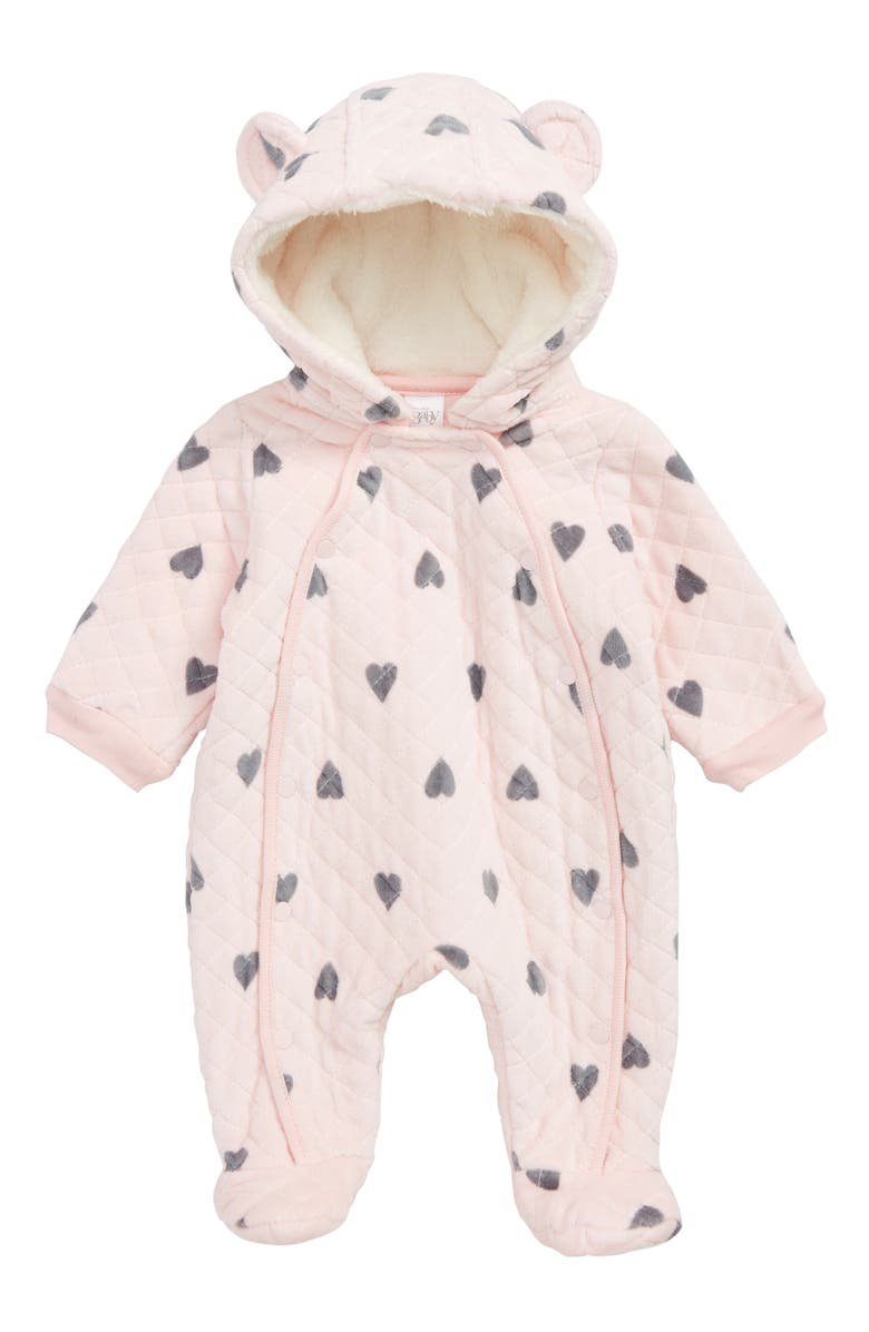 NORDSTROM Baby Print Bunting, Main, color, 682