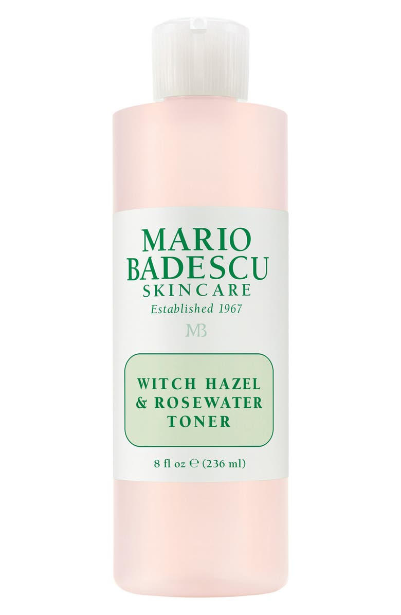 MARIO BADESCU Witch Hazel & Rosewater Toner, Main, color, No Color