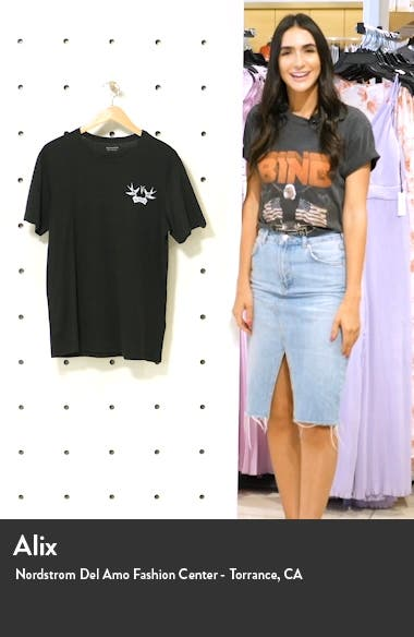 Slim Fit Graphic Tee, sales video thumbnail