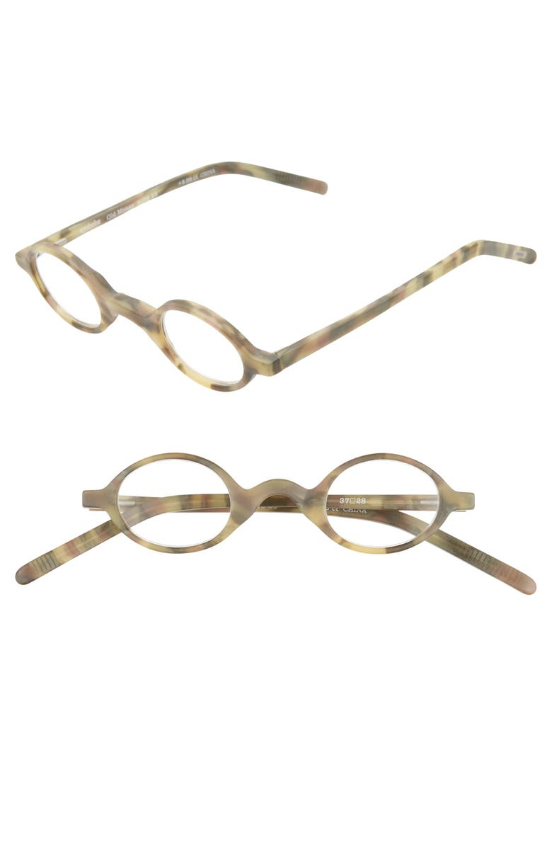 EYEBOBS Old Money 35mm Reading Glasses, Main, color, 030