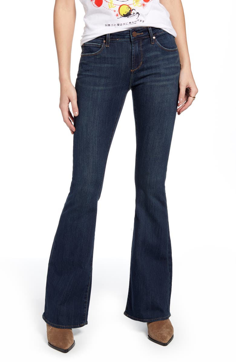 ARTICLES OF SOCIETY Faith Flare Jeans, Main, color, 400