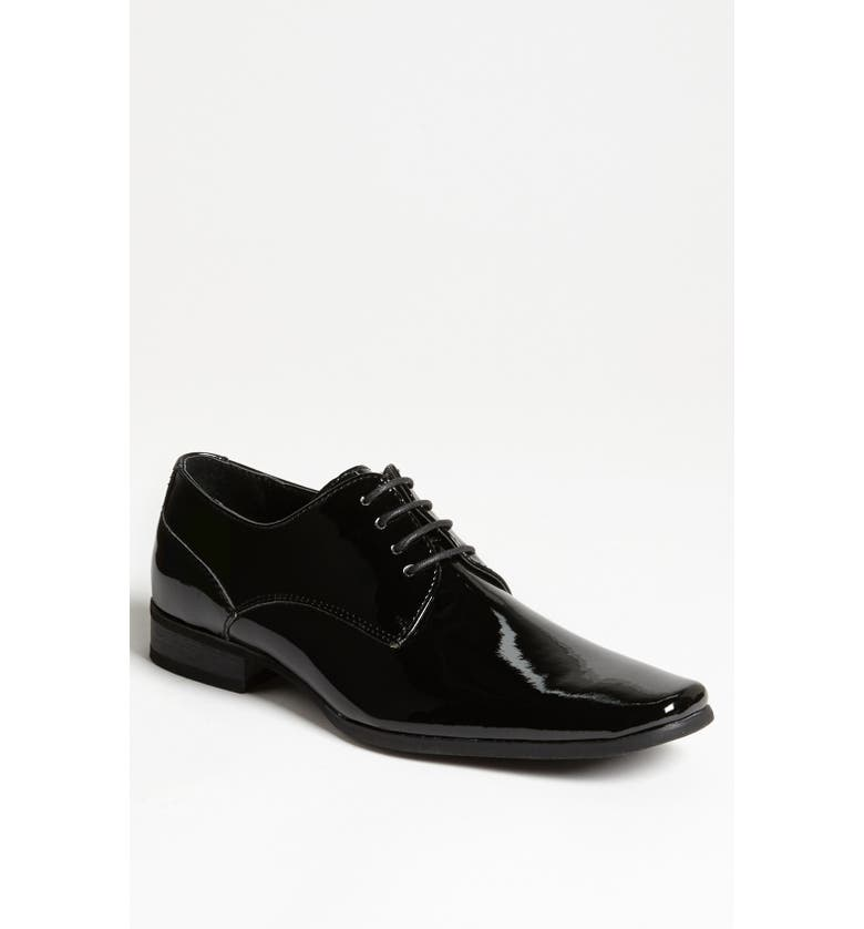 CALVIN KLEIN 'Brodie' Plain Toe Derby, Main, color, 001