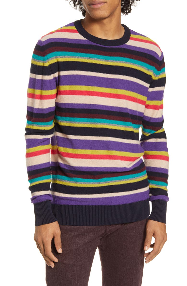 SCOTCH & SODA Regular Fit Crewneck Sweater, Main, color, 500