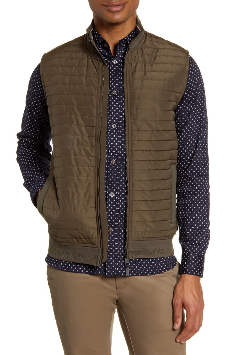 TED BAKER LONDON Rapids Quilted Vest, Main, color, 250