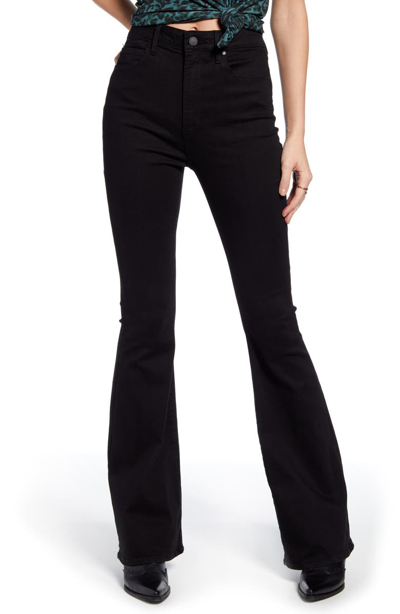 ARTICLES OF SOCIETY Bridgette High Waist Flare Jeans, Main, color, 001