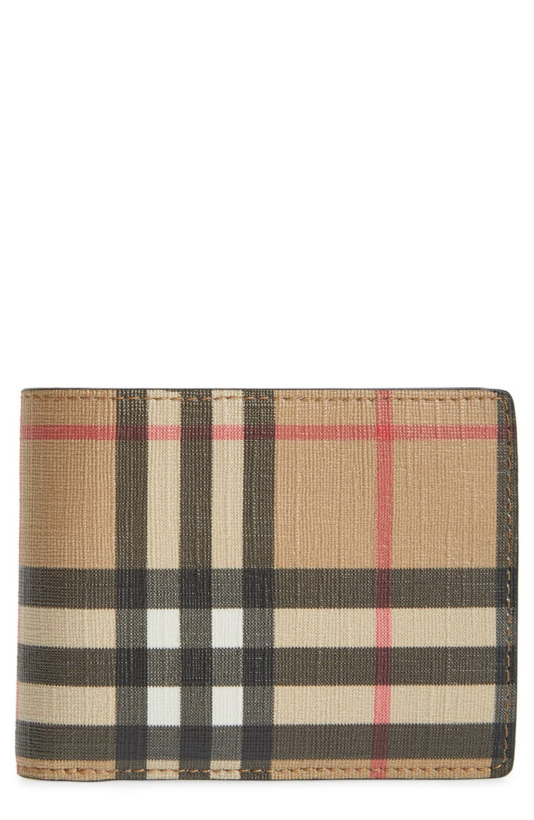 BURBERRY Vintage Check Wallet, Main, color, 250