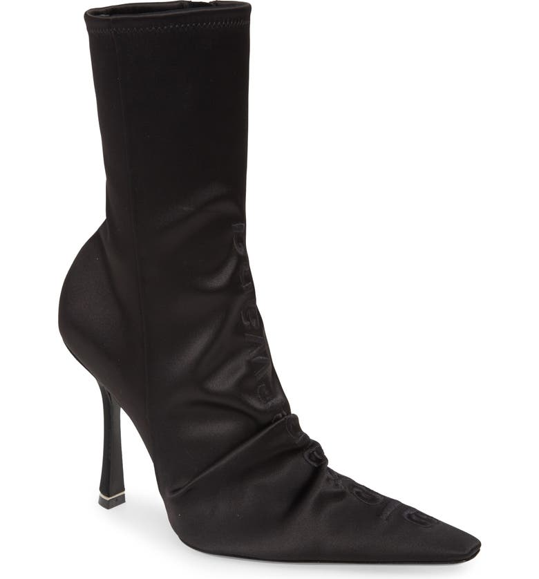 ALEXANDER WANG Vanna Pointed Toe Bootie, Main, color, 001