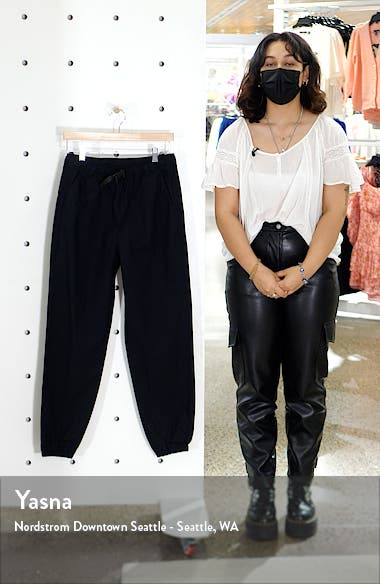 Sporty Belted Joggers, sales video thumbnail
