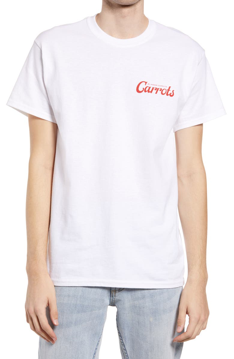 CARROTS BY ANWAR CARROTS Men's Logo Graphic Tee, Main, color, WHITE