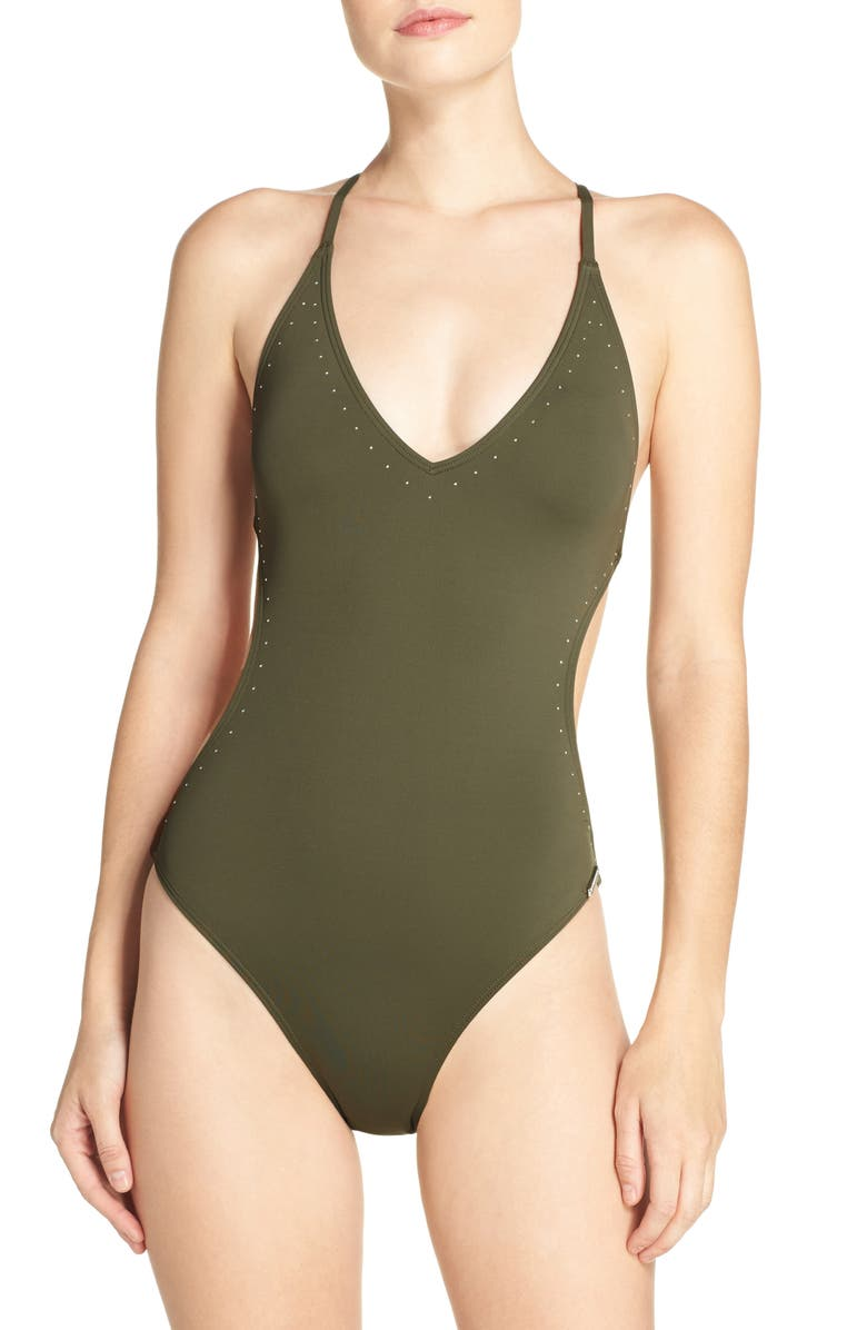 VINCE CAMUTO One-Piece Swimsuit, Main, color, 312