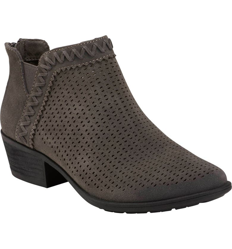 EARTH<SUP>®</SUP> Peak Perry Bootie, Main, color, CHARCOAL GREY SUEDE