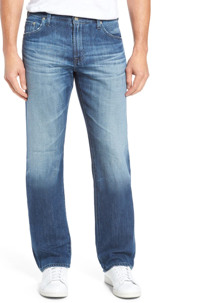 AG Protégé Relaxed Fit Jeans, Main, color, 15 YEARS FORGERY