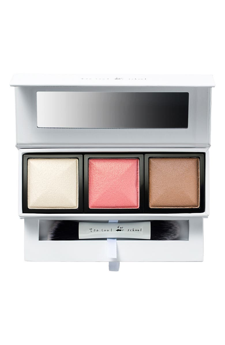 TOO COOL FOR SCHOOL Dinoplatz Triceratops Multi-Face Palette, Main, color, NONE