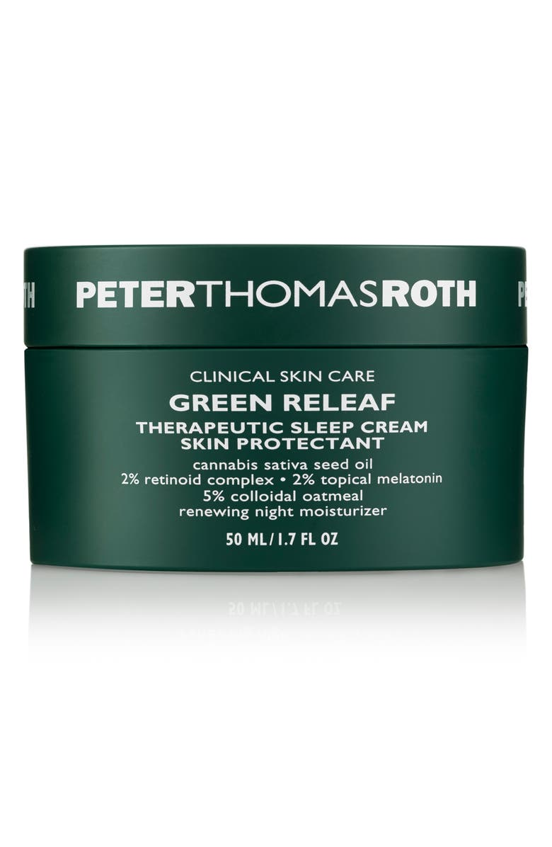PETER THOMAS ROTH Green Releaf Therapeutic Sleep Cream, Main, color, NO COLOR