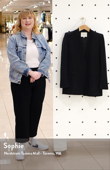 Erickson Open Front Blazer, sales video thumbnail