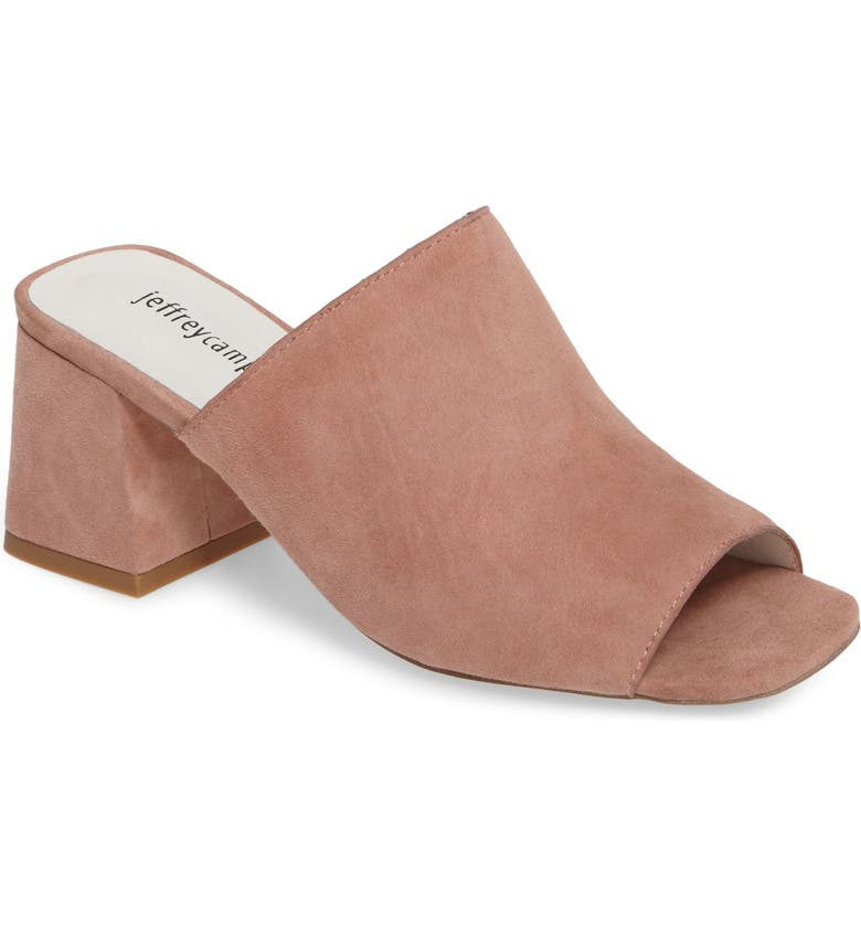 JEFFREY CAMPBELL 'Perpetua' Open Toe Mule, Main, color, 671