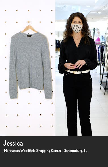 Cashmere Crew Sweater, sales video thumbnail