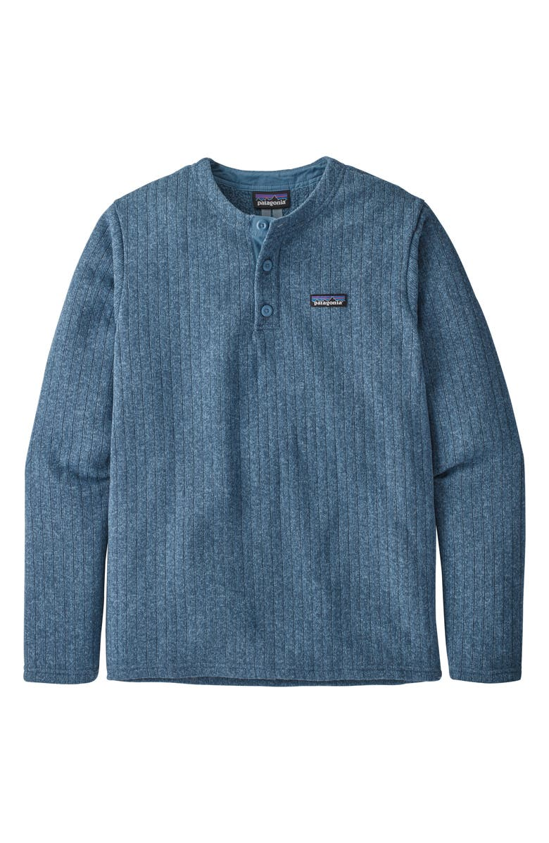 PATAGONIA Better Sweater<sup>®</sup> Henley Pullover, Main, color, PIGEON BLUE RIB KNIT