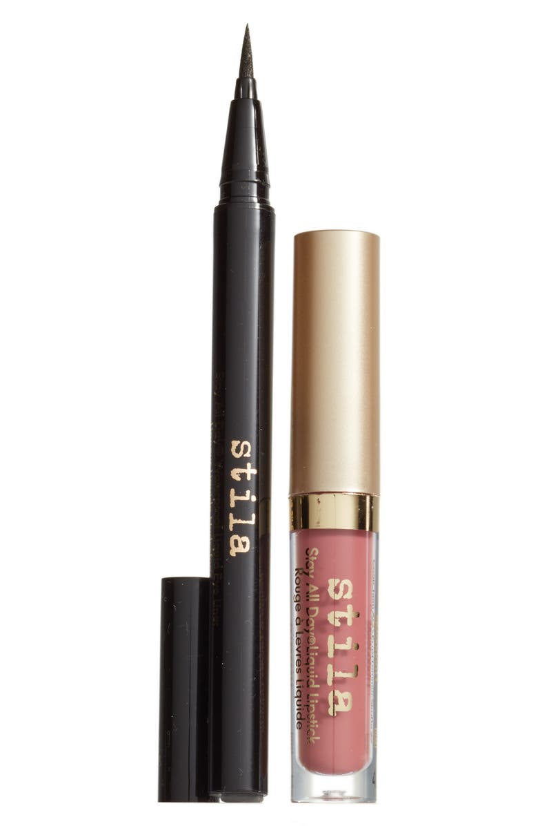 STILA stay all day<sup>®</sup> liner & lipstick duo, Main, color, No Color