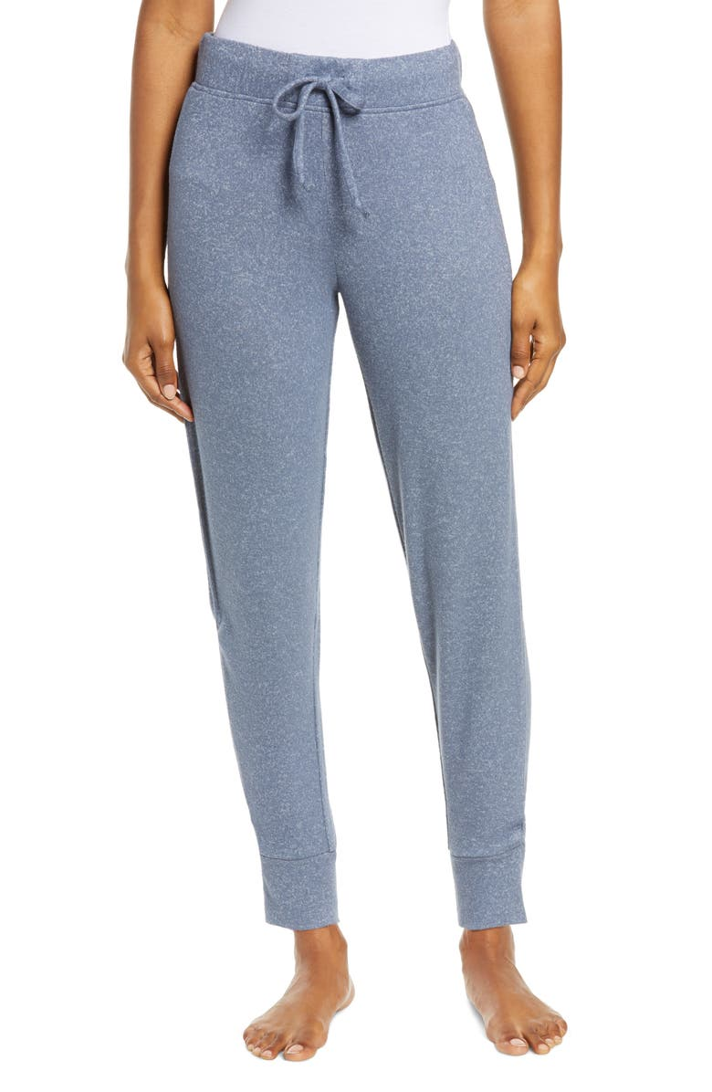 UGG<SUP>®</SUP> Casia Brushed Lounge Joggers, Main, color, NAVY HEATHER