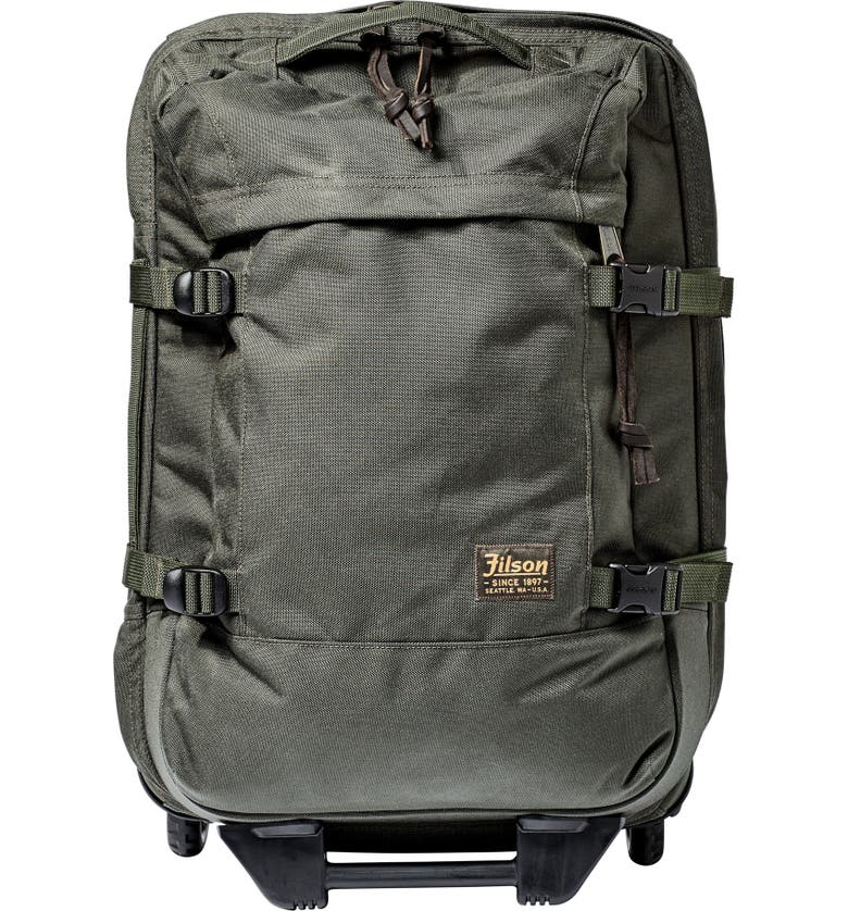 FILSON Dryden 22-Inch Wheeled Carry-On, Main, color, OTTER GREEN