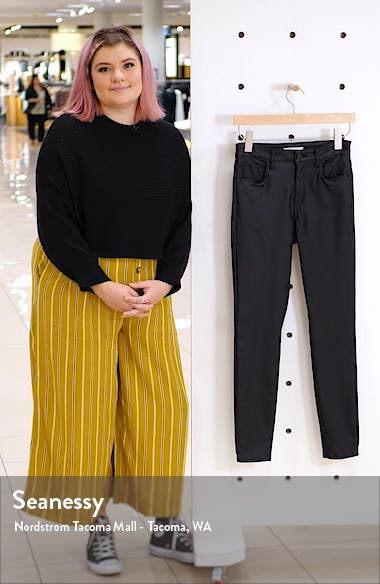 Ellie Coated High Waist Ankle Skinny Jeans, sales video thumbnail
