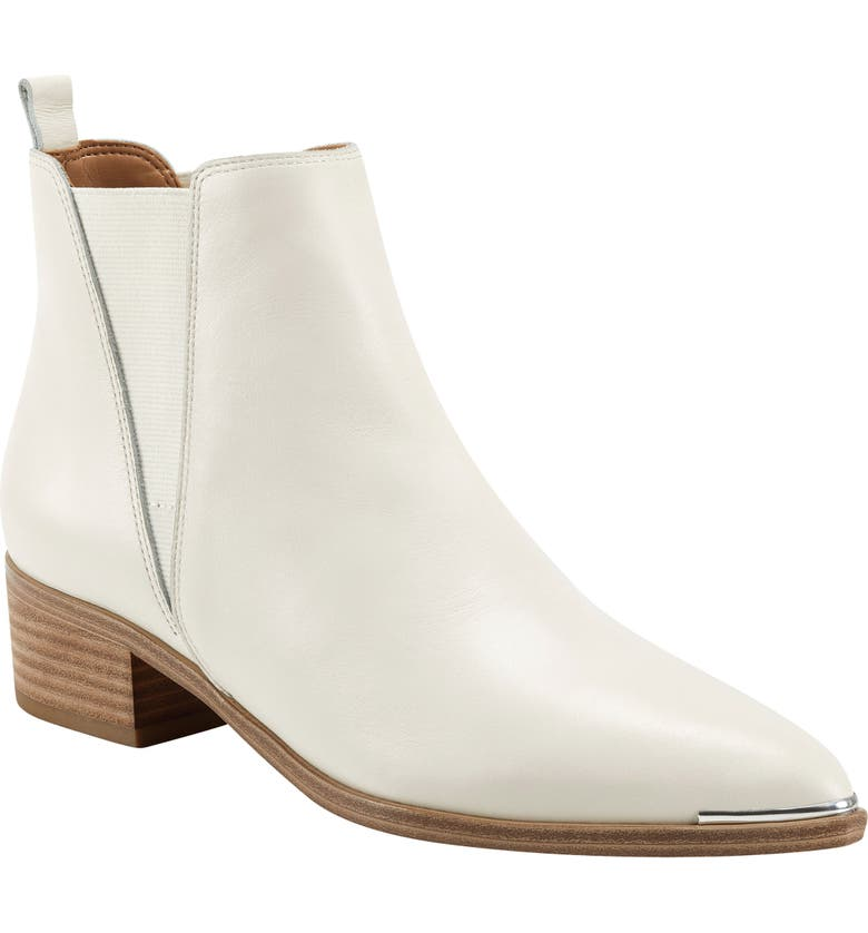 MARC FISHER LTD Yale Chelsea Boot, Main, color, CHIC CREAM LEATHER