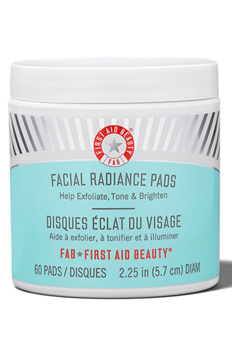 FIRST AID BEAUTY Facial Radiance Pads, Main, color, NO COLOR