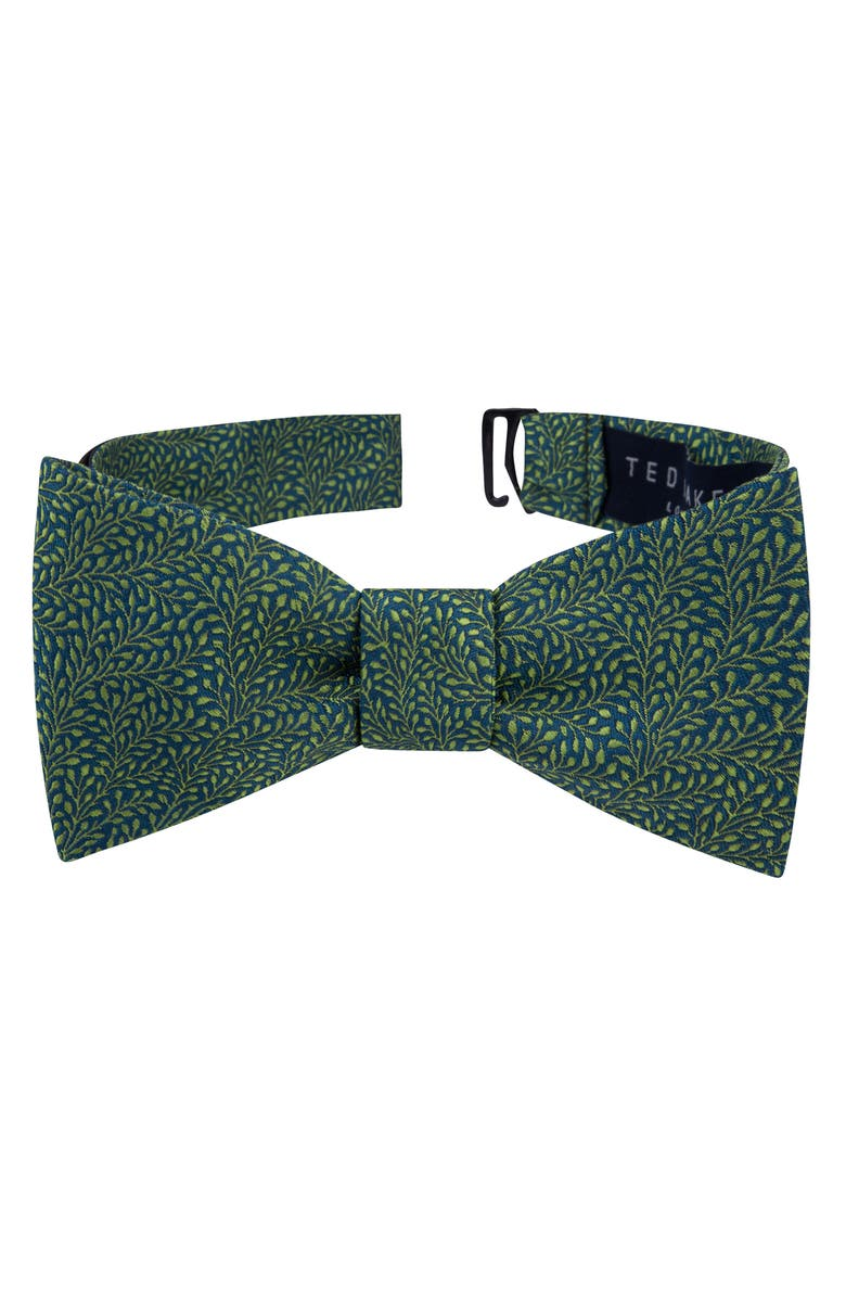 TED BAKER LONDON Grand Botanical Silk Bow Tie, Main, color, 300