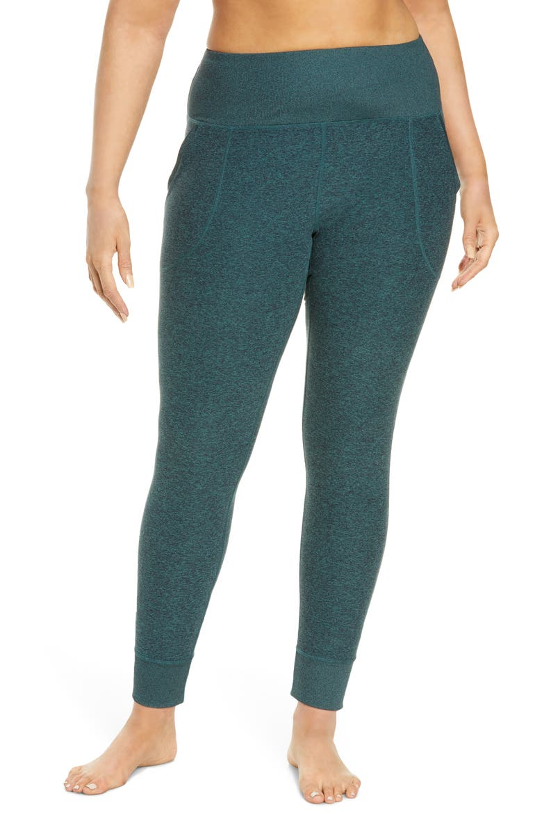 ZELLA Restore High Waist Soft Pocket Leggings, Main, color, TEAL TITANIC