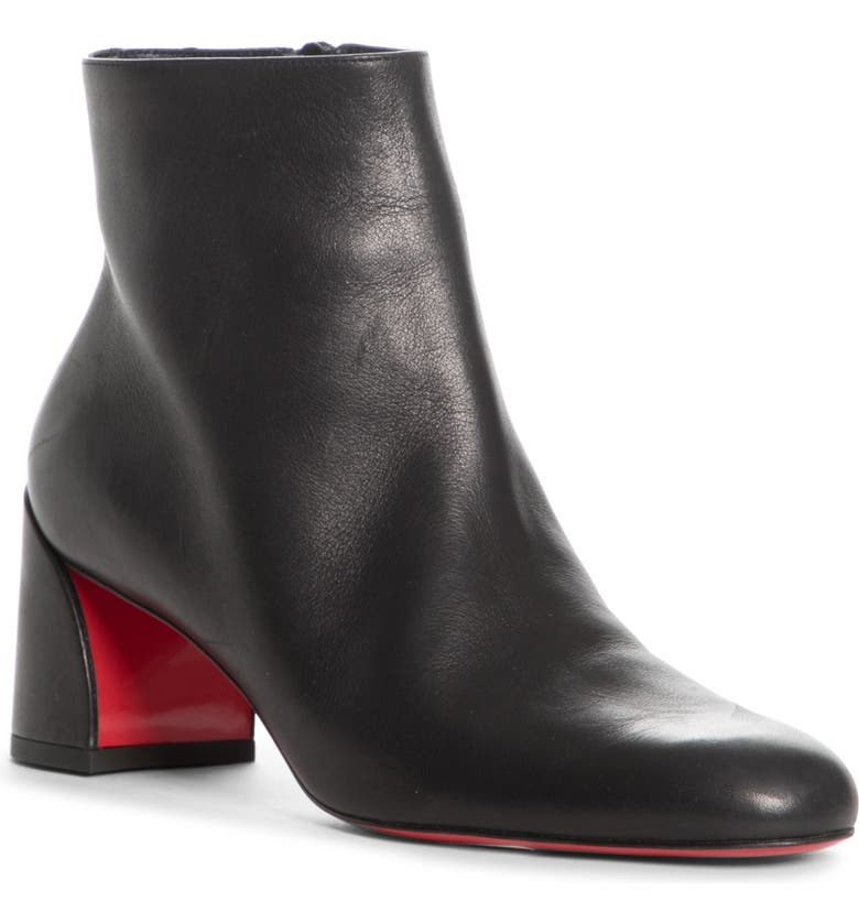 CHRISTIAN LOUBOUTIN Turela Bootie, Main, color, BLACK