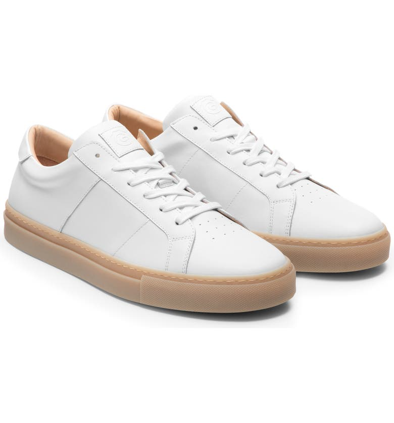 GREATS Royale Sneaker, Main, color, BLANCO LEATHER/ GUM