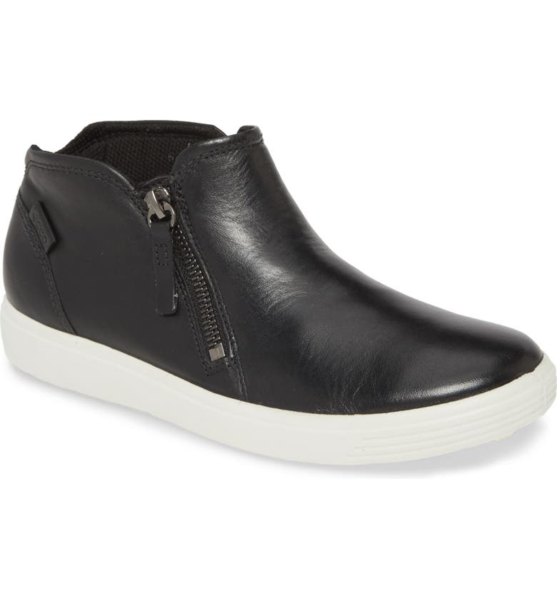 ECCO Soft 7 High Top Sneaker, Main, color, 002