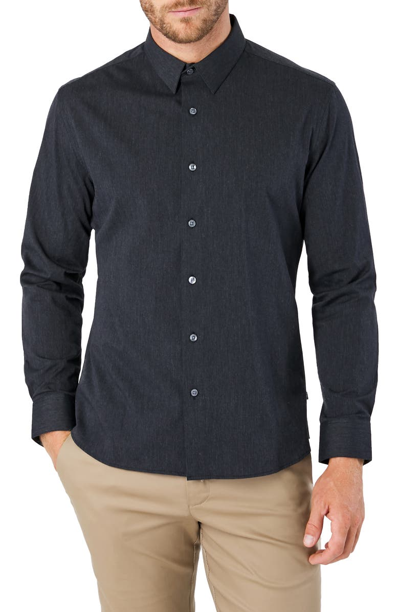 7 DIAMONDS Old Town Road Slim Fit Button-Up Shirt, Main, color, 064
