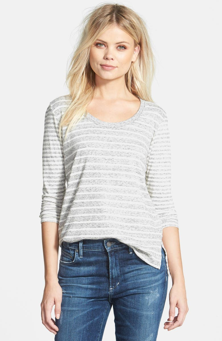 JAMES PERSE 'Collage' Long Sleeve Tee, Main, color, 058