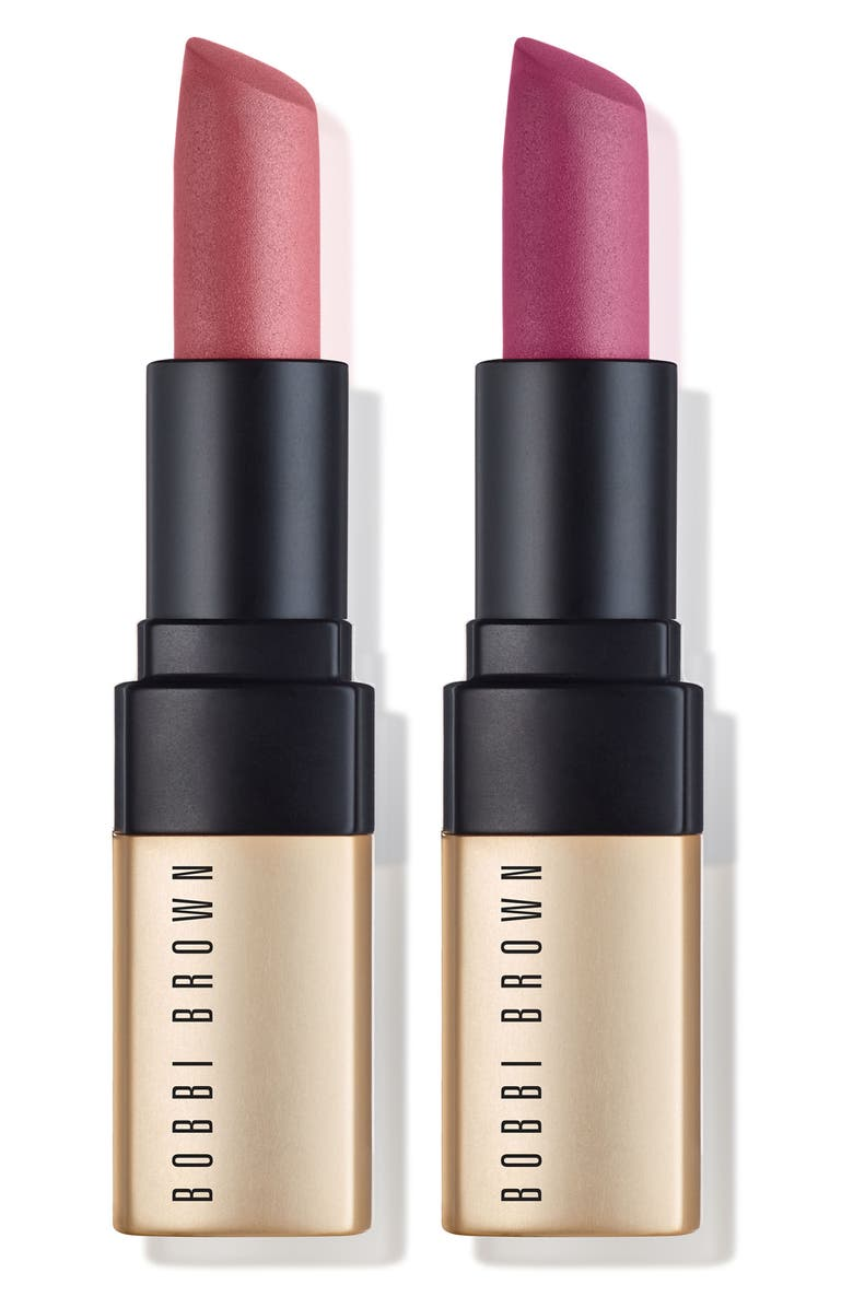 BOBBI BROWN Powerful Pinks Luxe Matte Lipstick Duo, Main, color, 000